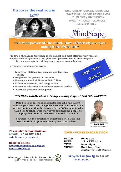 MindScape with Dale Fox at The DNA Express1 Henley House