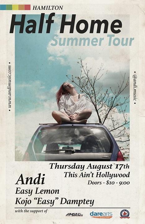Andi HALF HOME TOUR & Kojo Easy Lemon
