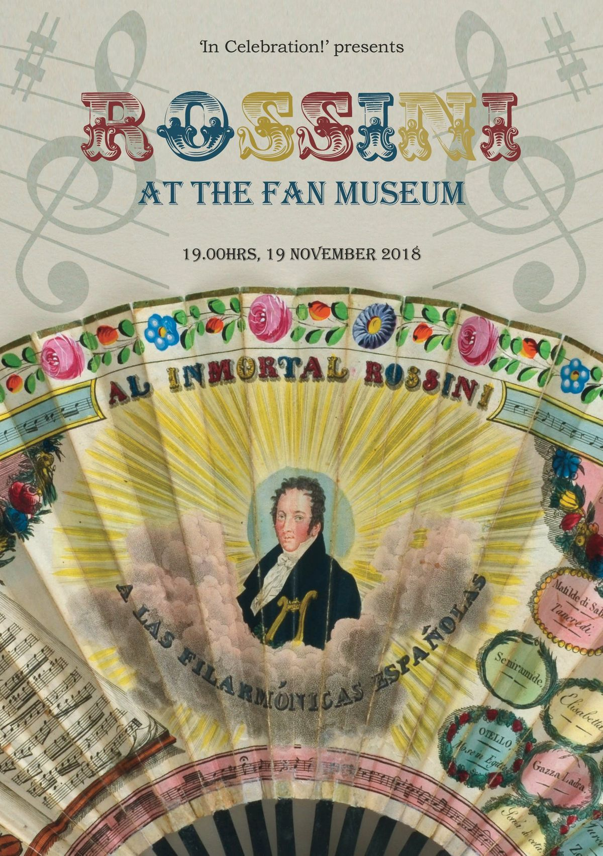 Rossini at The Fan Museum