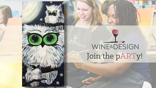 Paint Sip Owl You Need Is Love At Wine Design Stafford Va