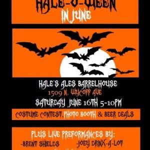 Hale-O-Ween Party in June