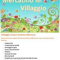 Mercatino del Villaggio Cavour
