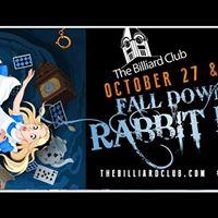 Alice in Wonderland Halloween Party at The Billiard Club