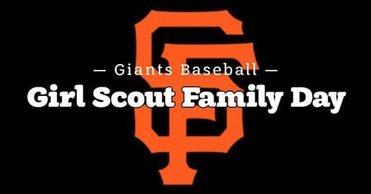 Giants Baseball Girl Scout Family Day
