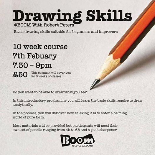 Drawing SkillsBoom with Robert Peters