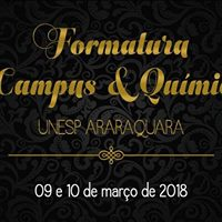 Formatura Campus e Qumica 2017 - Unesp Araraquara