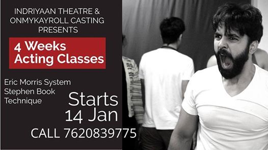 4 Weeks Acting Class