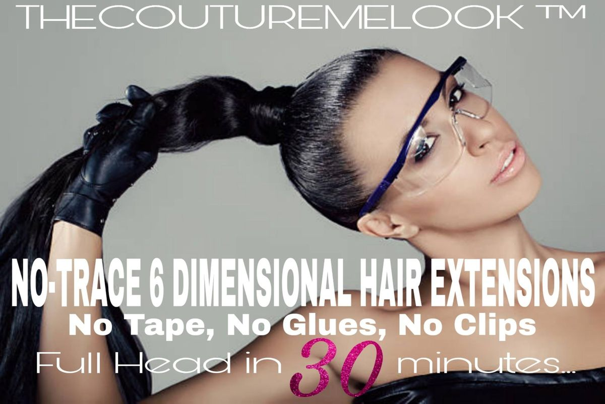 New No Trace 6d Hair Extensions Dallasftworth Tx At Spiveylane