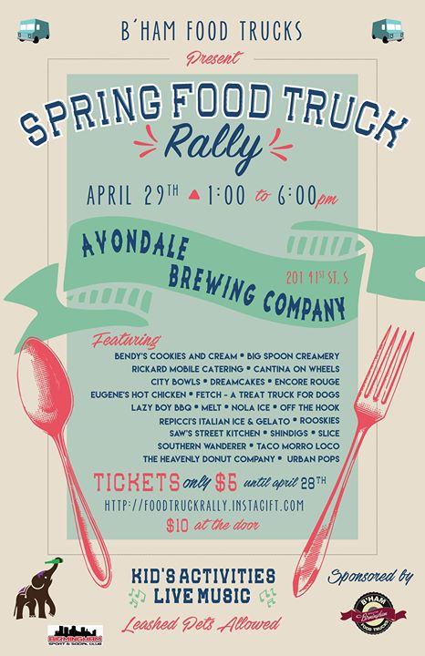 Spring Food Truck Rally Avondale Brewery