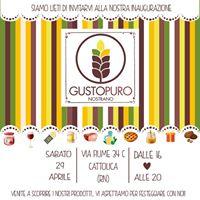 Inaugurazione Gustopuro - Cattolica