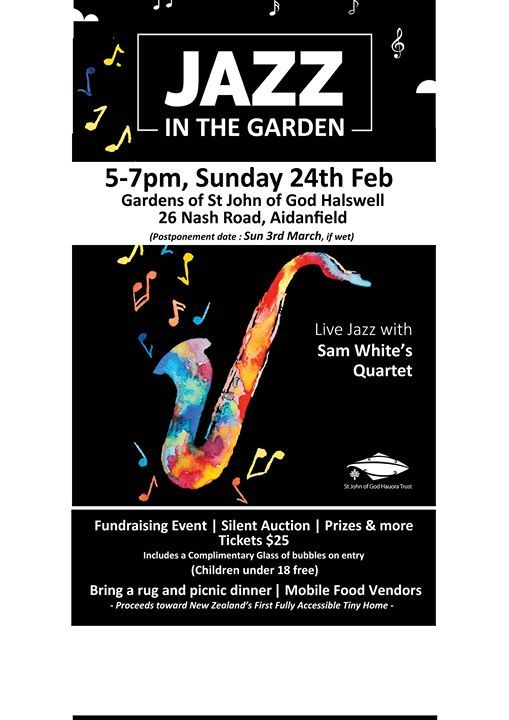 Jazz in the Garden at St John of God Halswell