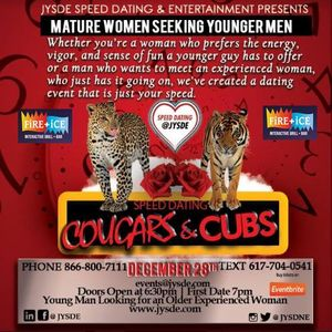 Speed dating cougars cubs