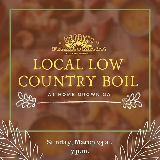 GFMAs Local Low Country Boil Dinner