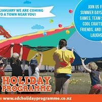 Southland District Council Holiday Programme Te Anau