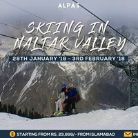 Skiing Trip to Naltar Valley  28th Jan - 3rd Feb 2018
