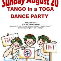 USA Dance Features Tango lessons and Toga in Tango Fun