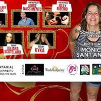 Domingueira  B-Day Monica Sant Anna  11 Junho