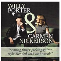 Willy Porter &amp Carmen Nickerson.at The Dorset Arms.