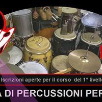 Scuola di percussioni Mixtura in Cavallerizza