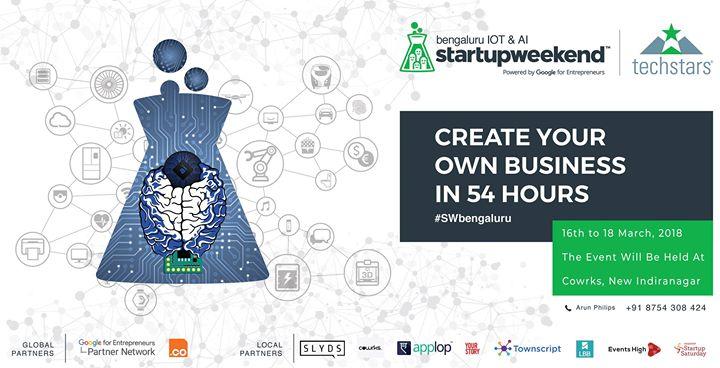 Startup Weekend Bengaluru IOT & AI