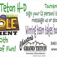 Cornhole Tournament at Chesters Grand Teton H-D