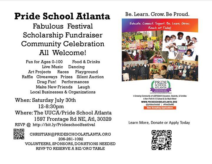 Pride School Atl Family festival fundraiser at 1597 ...