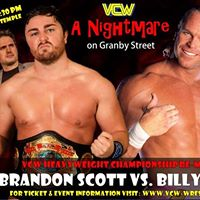 VCW - Sat. Oct. 7th - A Nightmare on Granby Street