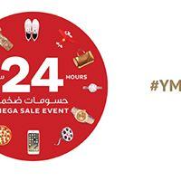 24 hours Mega Sale Event