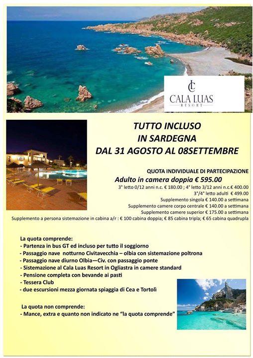 Soggiorno in Sardegna at DLF Velletri Andreozzi-Castrucci, Velletri