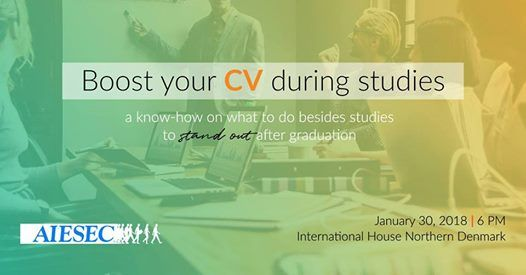 Boost your CV while studying