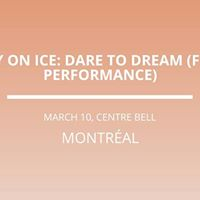Disney On Ice Dare to Dream (French Performance) in Montreal