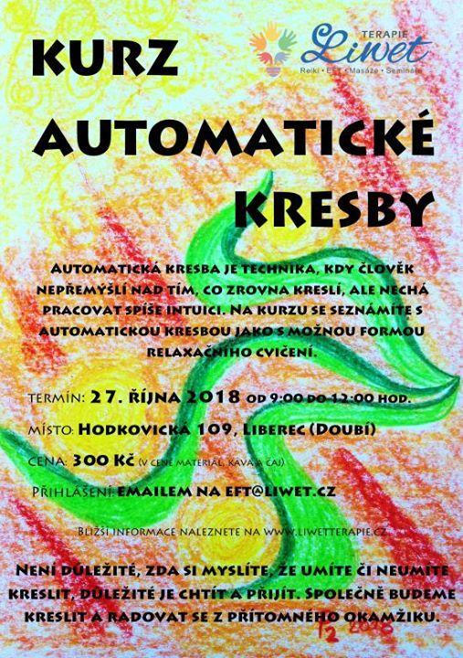 Kurz Automaticke Kresby 27 10 2019 At Eft Liberec