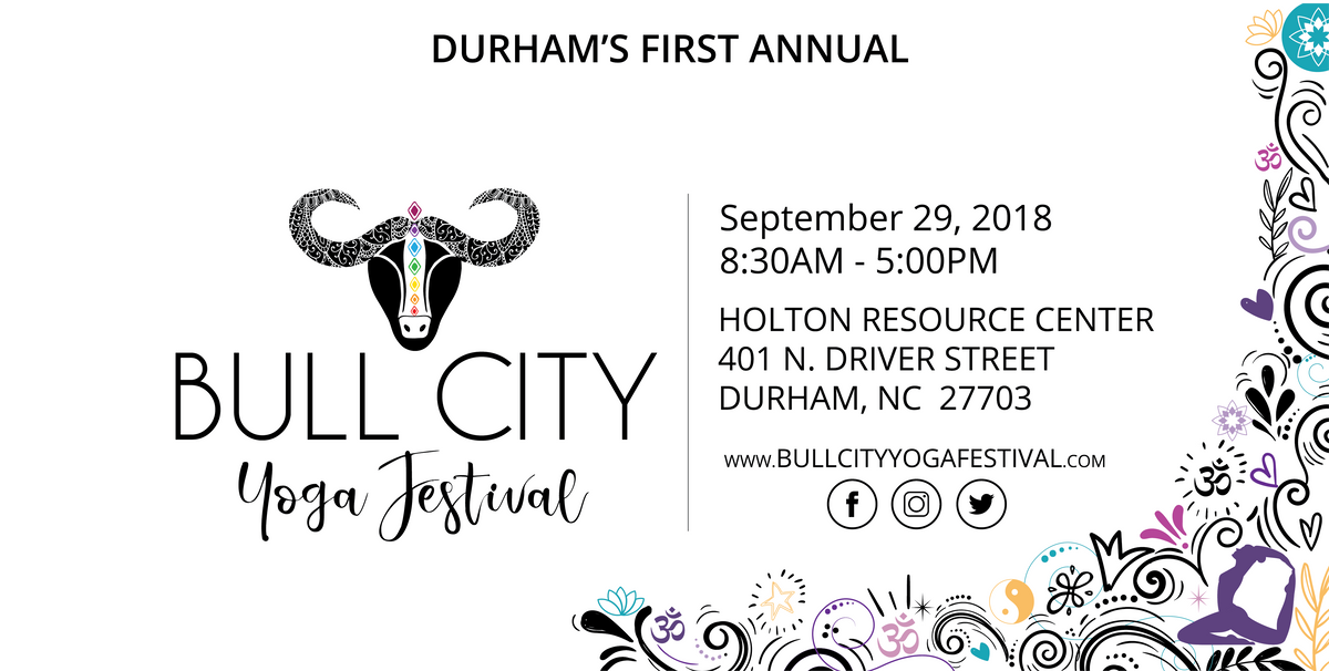 2018 Bull City Yoga Festival At Holton Resource Center Durham