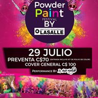Powder Paint Festival by Lasalle