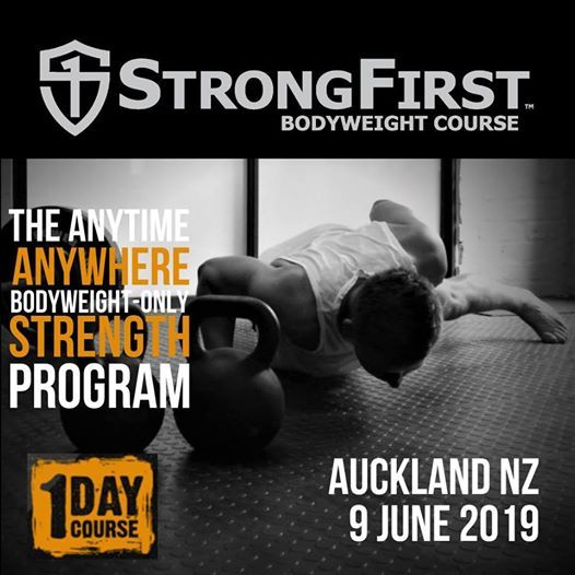 StrongFirst Bodyweight Course at Ludus Magnus, Auckland