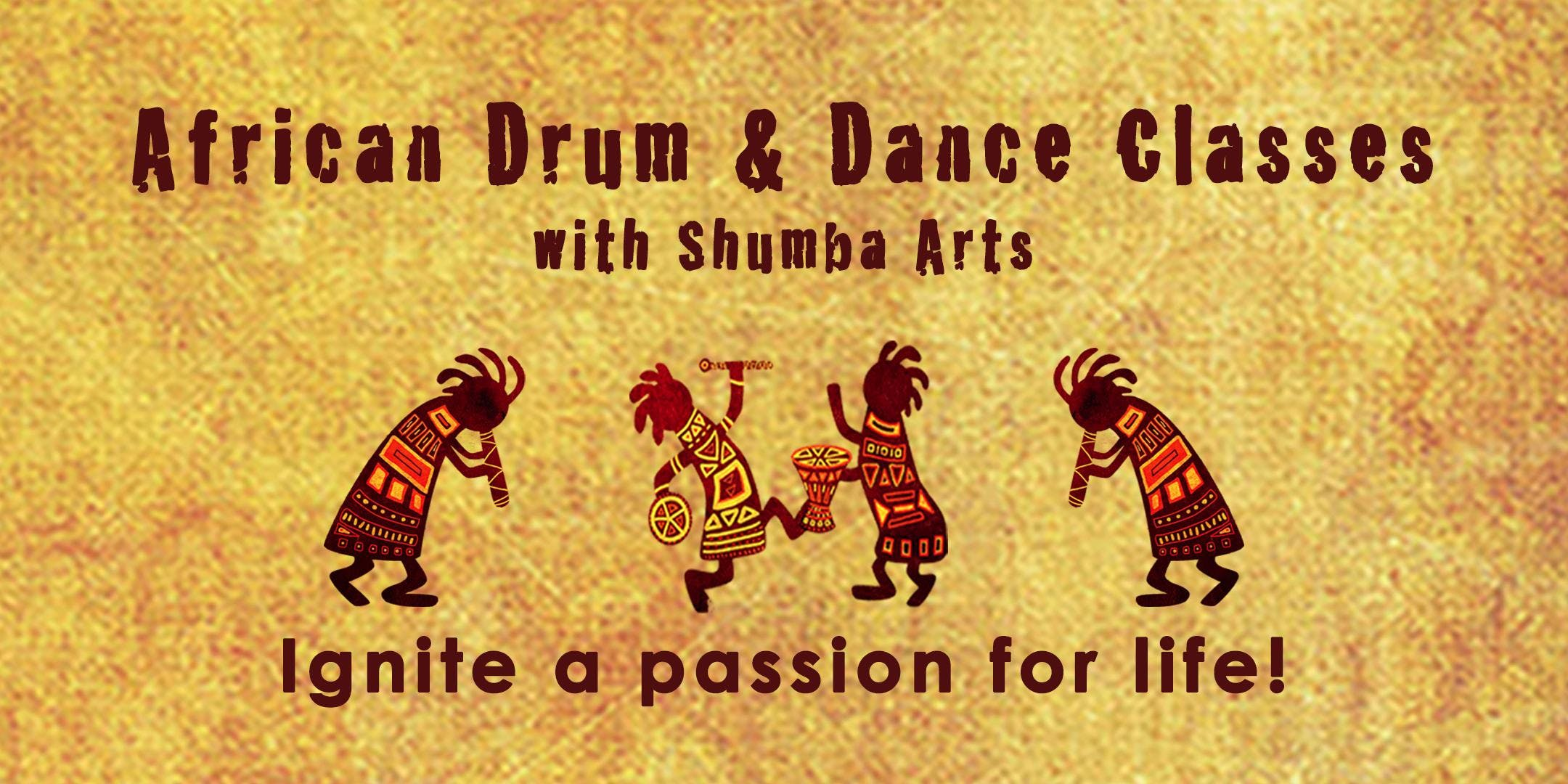 African Drum &amp Dance Classes  Exeter