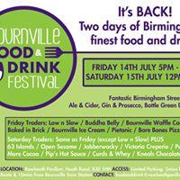 Bournville Food &amp Drink Festival July 2017