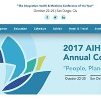 Annual Conference Integrative Health People Planet Purpose