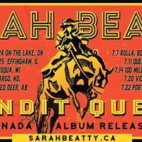 Sarah Beatty  Bandit Queen Album Release Tour