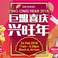 GM Klang Ong Ong Year 2018