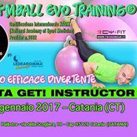 Formazione Fitness GET Gymball Evo Training - Catania
