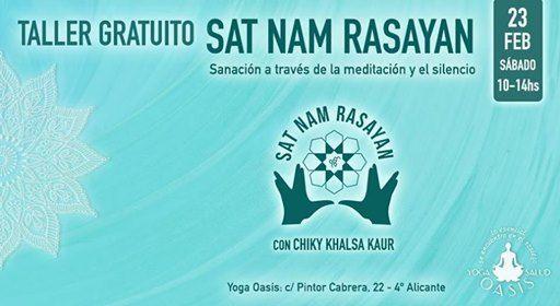 Taller Gratuito de Meditacin Sat Nam Rasayan