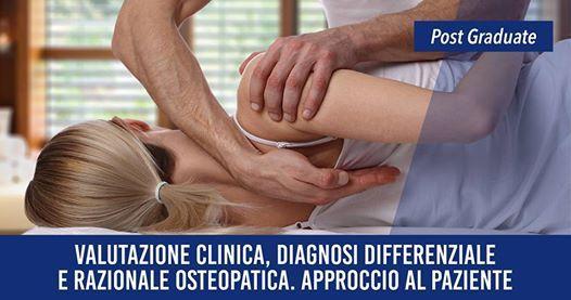 Valutazione Clinica e Diagnosi differenziale osteopatica