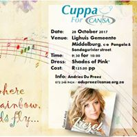 CUPPA for CANSA - Finale at Lighuis