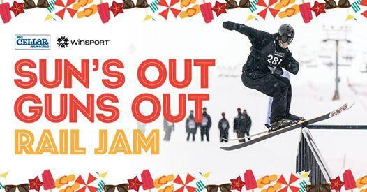Suns Out Guns Out Rail Jam