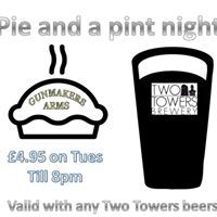 Pie and a pint night
