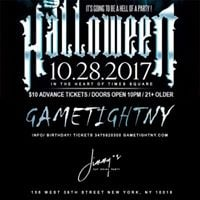 Jimmys NYC Halloween Party 2017