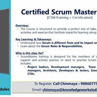 Certified Scrum Master (CSM ) Workshop