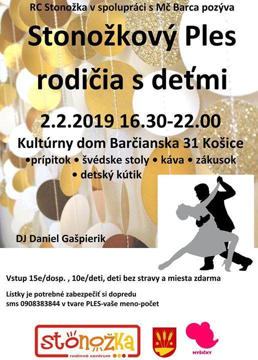 fb0454313 Stonožkový ples rodičia s deťmi at MC STONOŽKA, Kosice