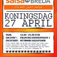 Koningsdag Salsaplein Hotel Nassau Breda 27 april